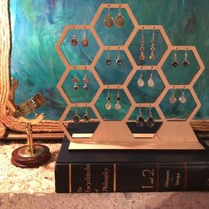 Jewelry - Honeycomb Earring Display